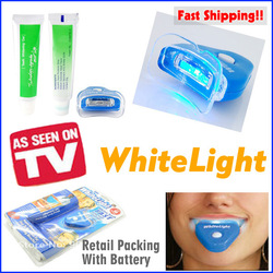 White Light Teeth  Whitening Whitening Whitener System As Seen On TV at Sears.com