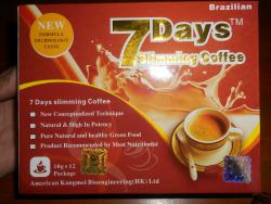 7 Day brazilian Slimming Coffe