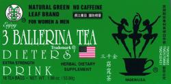 3 Ballerina Tea