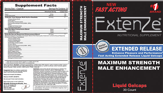 Extenze Testosterone Review