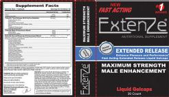 Extenze Plus 5 Day Supply