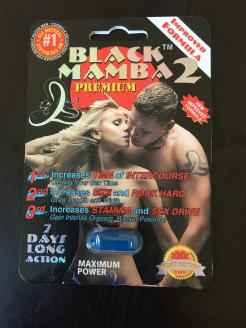 Black Mamba 2 Premium Improved Formula 24 Pills