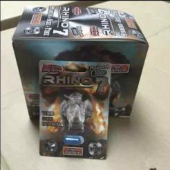 Rhino 7 Platinum 3000 Male Sexual Enhancer 24 Pills