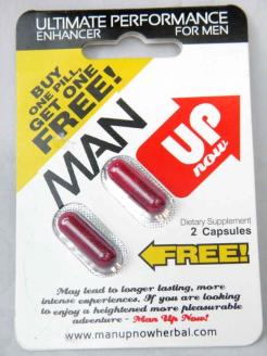 Man Up Now Instant Enhancer 48 Pills