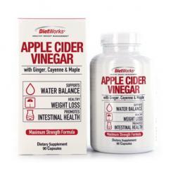 Apple Cider Vinegar Dietary Supplement 90 Capsules