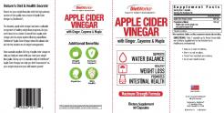 Apple Cider Vinegar Dietary Supplement 90 Capsules