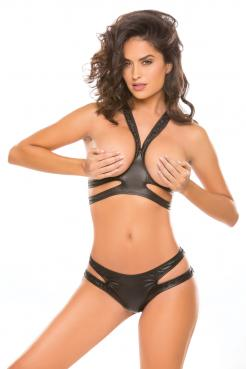Allure Spunky Bunny Top and Thong