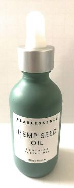 Pearlessence Hemp Seed Oil Soothing Facial Oil