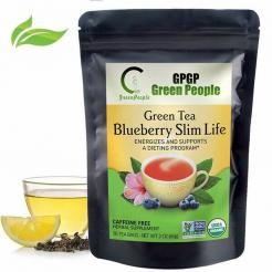 Green Tea Blueberry Slim Life Tea 30 Bags