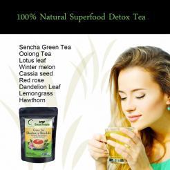 Green Tea Blueberry Slim Life Tea 30 Bags