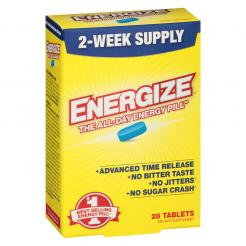 ENERGIZE Energy Pill 28 Tablets