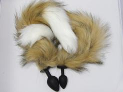 Fox Tail Anal Plug Sex Toy for Her