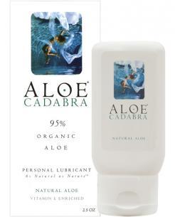 Aloe Cadabra Organic Lubricant - 2.5 oz