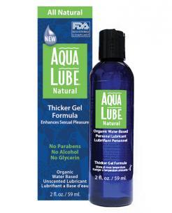 Aqua Lube Natural Organic 2 oz