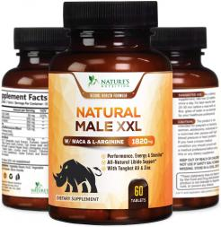 Nature's Nutrition Natural Male XXL 60 Pills